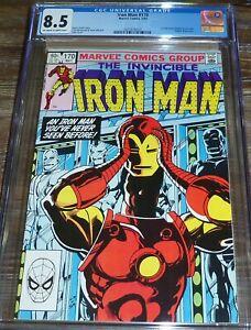 Iron Man #170 CGC 8.5 (05/1983) 1st App James Rhodes as Iron Man KEY Issue