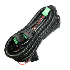 Fog Light Wiring Harness Kit H11 H8 H9 Fit for Honda 12V LED 40A Switch Relay