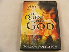 The 700 Club Presents The Quest for God -Gordon Robertson (DVD)