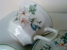 Pottery Adams Azalea tea cup 6.5cms tall x 9.7cms rim