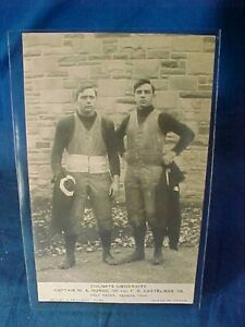 1906 COLGATE University FOOTBALL PLAYERS REAL PHOTO POSTCARD