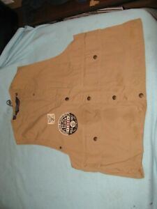Ralph Lauren Polo Sportsman Hunting, Fishing Vest Size Medium