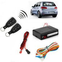 Car Remote Control Central Door Lock Locking Kit Universal 2x Key Entry System