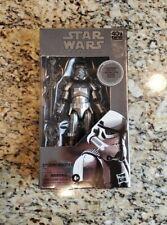 "Stormtrooper Carbonized 6"" The Black Series STAR WARS Hasbro NEW MIB"