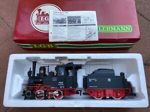 Lehmann Gross Bahn (LGB), Dampf-Lokomotive mit Tender, sehr guter Zustand