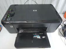 HP Desk Jet Plus F4580 Black All-in-One Printer/Scanner Works