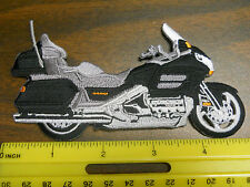 """GL1800 GOLDWING IRON-ON 5"""" EMBROIDERED PATCH 9 COLOR CHOICES"""