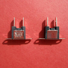 "LOT 100 Thermal Fuse Orient Company DM 140V, Surface Mount, 1/4"" spade"