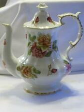 Hammersley Morgan's Rose Coffeepot Coffee Pot Pre-Owned