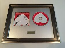 PERSONALLY SIGNED/AUTOGRAPHED GASLIGHT ANTHEM - GET HURT CD PRESENTATION.