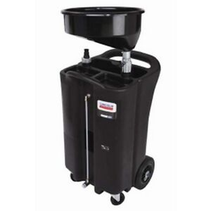 Lincoln Lubrication 3626 26-gallon Used Fluid Drain -  Black Polyethylene