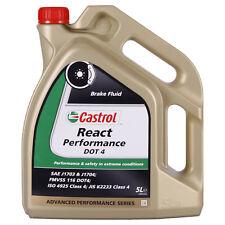 Olio per freni Castrol REACT Performance DOT 4 5 litri