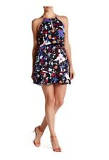 Parker Nathan Floral Halter Dress SZ Medium NWT ON SALE!