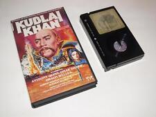 Betamax Video ~ Kublai Khan ~ Anthony Quinn / Omar Sharif ~ Pre-Cert ~ VCL