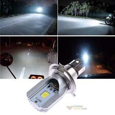 H4 12W Led Motorcycle Headlight Bulbs COB 6-80V 800LM H/L Scooter Xenon Fog Lamp
