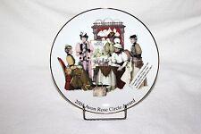 Vtg 2004 Avon Rose Circle Award Members Collectible Decorative Plate