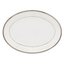 """Lenox Linen Mist 13"""" Oval Platter"""