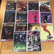 Inhuman #1-14 Mint/Near Mint Marvel Comics