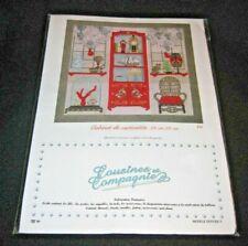Cousines et Compagnie Cabinet de Curosites Cross Stitch Sampler Kit Floss Fabric