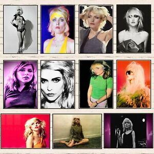 Punk Princess Debbie Harry Rock Disco Pop Print Poster Wall Art Picture A4 +