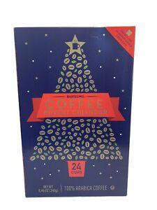 Sealed NIB Aldi Coffee Advent Calendar 24 Cups Pods Flavored Delicious Hot Drink