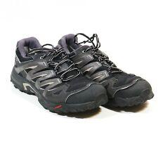 Salomon Eskape GTX Black Gray Gore Tex Waterproof Hiking Shoes 328108 Men Sz 12