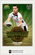 2011 Select NRL Champions Trading Cards Rookie 2010 R54 Isaac John (Warriors)