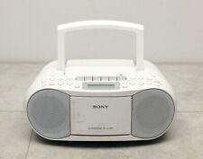 SONY CFD-S70 CD Radio Kassettenrecorder Boombox tragbar weiß