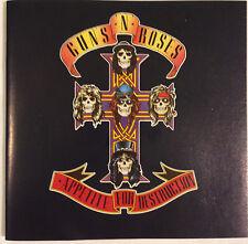 Guns n' Roses / Appetite For Destruction CD 1987 Ex+  Hard Rock Heavy Metal