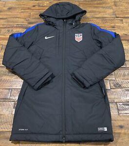 Nike Team USA Womens Soccer National Team Storm Fit Sideline Parka Jacket Small