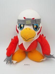 """Hawkmon A1911 Digimon Adventure Banpresto 2000 Plush 7"""" Toy Doll Japan"""