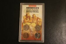 Authentic Buffalo Nickel Set: America's Newest & Oldest Buffalo Nickel Coin Set