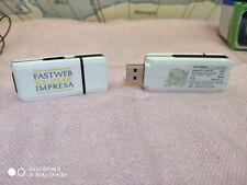 2 chiavetta Usb internet Key sim fastweb 7.2 P MK US75s D-16s1B L5