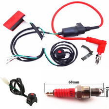 Motorcycle ATV 90 110 125 140 150cc Wiring Harness Switch Ignition Coil CDI Kit