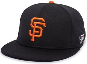 San Francisco Giants MLB OC Sports Black Hat Cap Proflex Stretch Flex Fit Mens