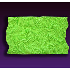 Long Fur Silicone Fondant Impression Mold by Marvelous Molds