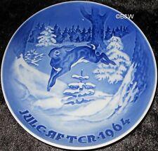 1964 BING & GRONDAHL / ROYAL COPENHAGEN WEIHNACHTSTELLER TOP 1. WAHL
