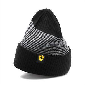 Puma Scuderia Ferrari Fanwear Beanie Black/Grey 022384-02 New