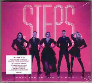 Steps - 'What The Future Holds Pt.2' Deluxe 2CD Edition (2021) *SIGNED*