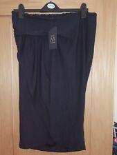 Next maternity wrap skirt black size 8 bnwt