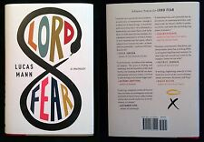 Lord Fear : A Memoir by Lucas Mann (2015, HC w/dust jacket)