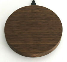 Wireless Charger aus Holz, 10W kabellos laden, Induktive Ladestation aus Holz