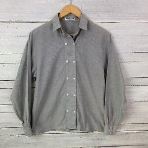 "Vintage Jaeger Size 97cm 38"" Men's Grey Striped Shirt Made in Great Brittan"