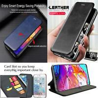 Pour Samsung Galaxy S10 Lite, A51 A71,S20 Magnétique Clapet Étui Cuir Téléphone