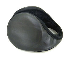 Black Fleece Ear Muffs Warmer Earmuffs Ears warmer Ski Grips Wraps Back Wear New
