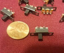 8 pcs 5V 0.3 A Mini Size Slide Switch for Small DIY Power Electronic