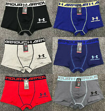 New UA Men's Boxer Soft Briefs Underpants Knickers Shorts Cotton Sport Underwear