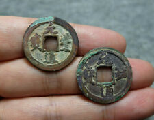 2x CHINA Song (1078-1093 AD) Yuan Feng / Yuan You Tong Bao Genuine Ancient Coins