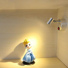 Indoor 3W LED Picture Spotlight Cabinet Light Battery-Powered Lamp On/Off Button