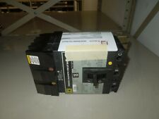 Square D Fc34100 I Line Circuit Breaker 100a 3p 480v Ac With Test Report Used